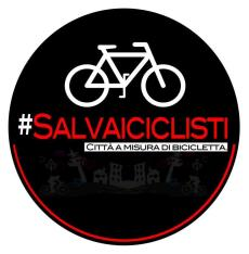 logo campagna #salvaiciclisti italia